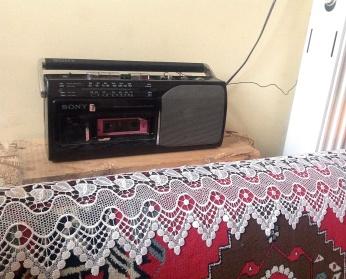 Dedemin 20 senelik radyosu